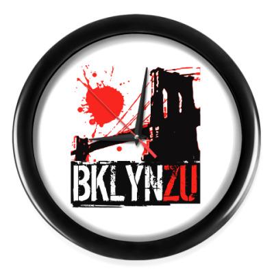 Настенные часы Brooklyn Zu