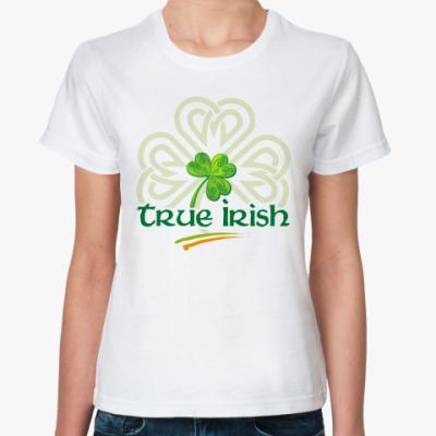 Классическая футболка true irish