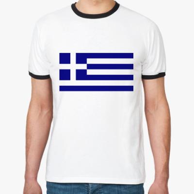 Футболка Ringer-T  Греция