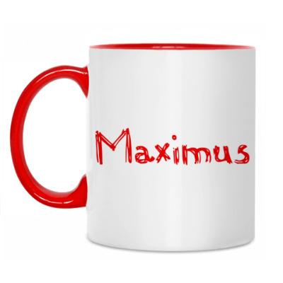 Кружка Принт Maximus