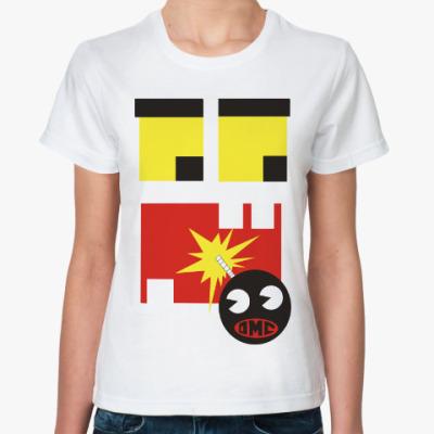 Классическая футболка Монстрик и бомба