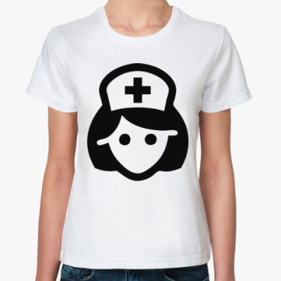 Классическая футболка Медсестра