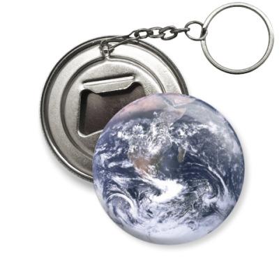 Брелок-открывашка Планета Земля