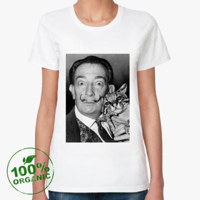 Женская футболка из органик-хлопка Salvador Dalí