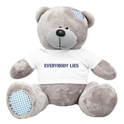 Плюшевый мишка Тедди everybody lies
