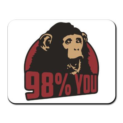 Коврик для мыши 98% тебя