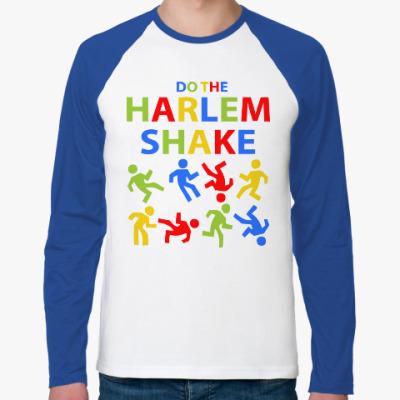 Футболка реглан с длинным рукавом Harlem Shake