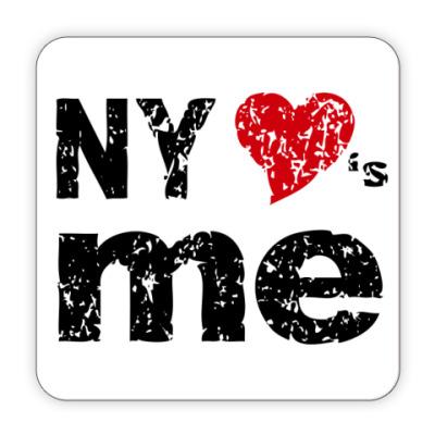 Костер (подставка под кружку) NY Loves Me