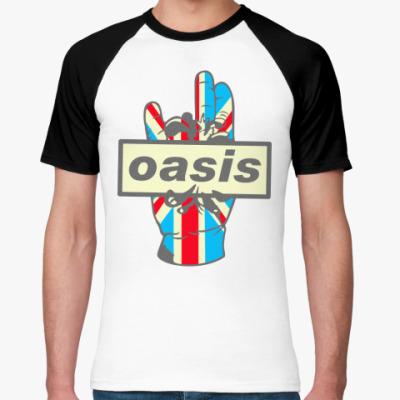 Футболка реглан Oasis