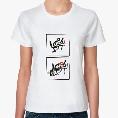 Классическая футболка WEBманьяки