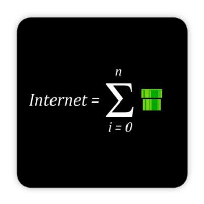 Костер (подставка под кружку) Костер Интернет