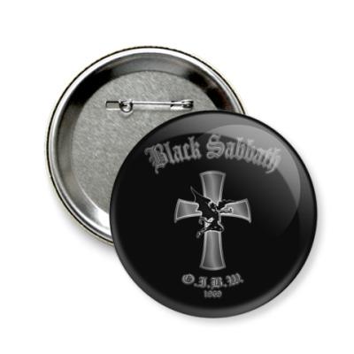 Значок 58мм Black Sabbath