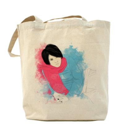 Сумка сумка Тегоши в р. шарфе