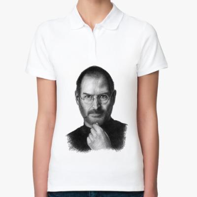 Женская рубашка поло Стив Джобс