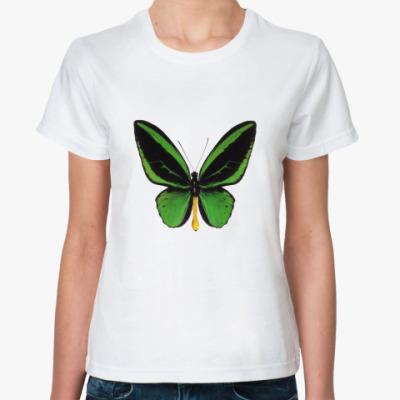 Классическая футболка Бабочка GREEN
