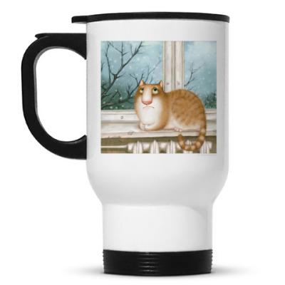 Кружка-термос Кошка