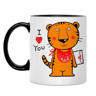Кружка Tiger in Love