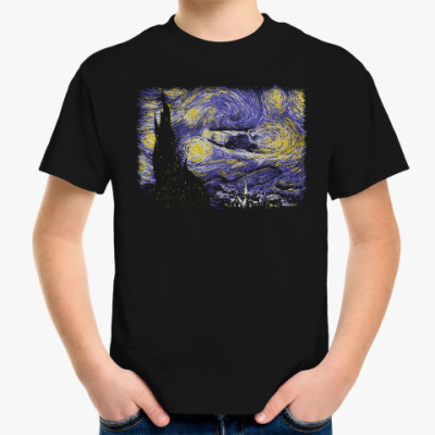 Детская футболка Звёздный Делориан