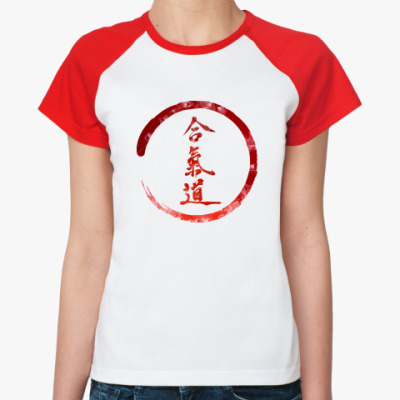 Женская футболка реглан Энергия