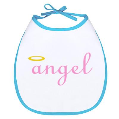 Слюнявчик Ангел