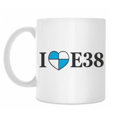 Кружка I love E38