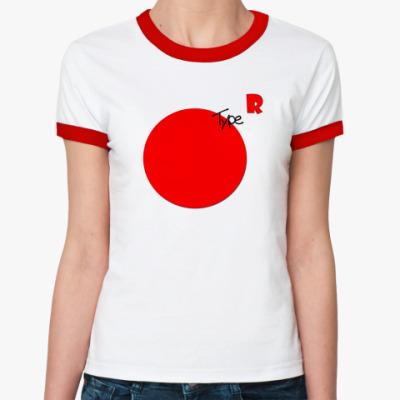 Женская футболка Ringer-T Type R