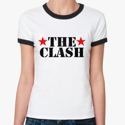 Женская футболка Ringer-T The Clash