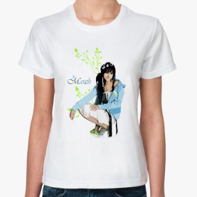 Классическая футболка March