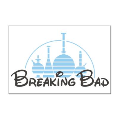 Наклейка (стикер) Breaking Bad Chemistry