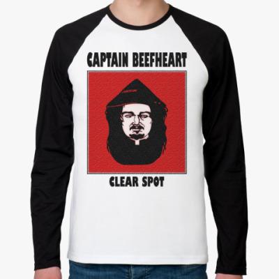 Футболка реглан с длинным рукавом Captain Beefheart
