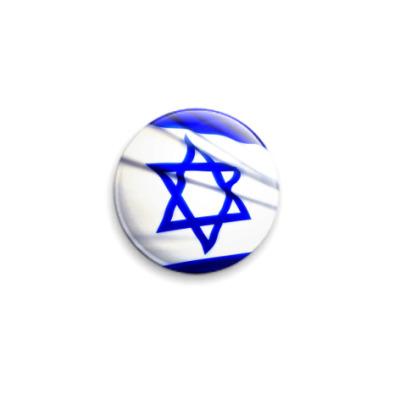 Значок 25мм  Израиль