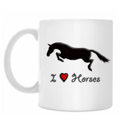 Кружка I Love Horses