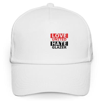 Кепка бейсболка Love United