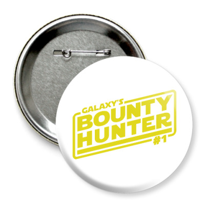 Значок 75мм Bounty Hunter