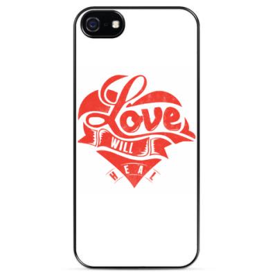 Чехол для iPhone Love will heal