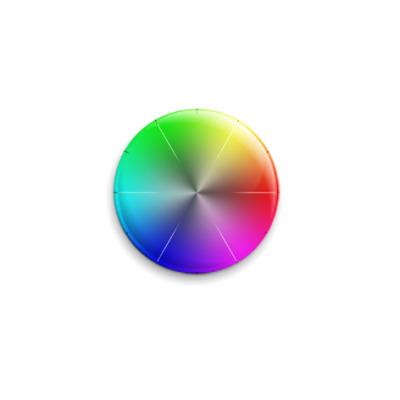 Значок 25мм  Цветовая палитра