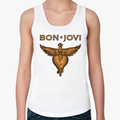 Женская майка Bon Jovi