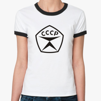 Женская футболка Ringer-T Знак качества