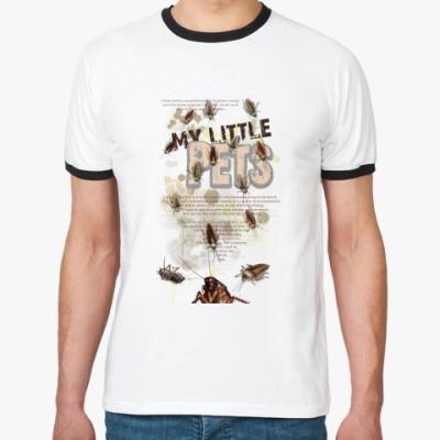 Футболка Ringer-T Little pets - тараканы