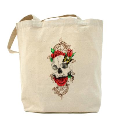 Сумка Skull&Roses Холщовая сумка