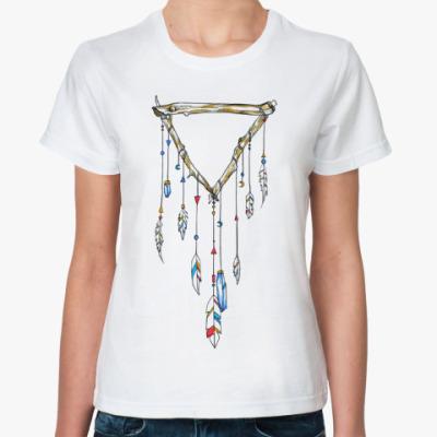Классическая футболка Ловец снов