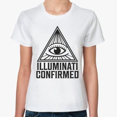 Классическая футболка Иллюминати