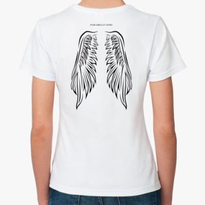 Классическая футболка Para bellvm white wings