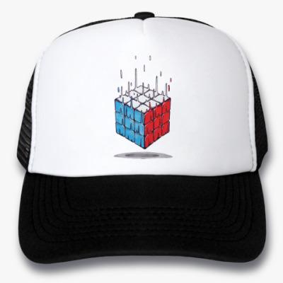 Кепка-тракер Кубик Рубика   Rubiks Cube