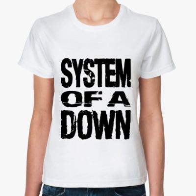 Классическая футболка  System of a down