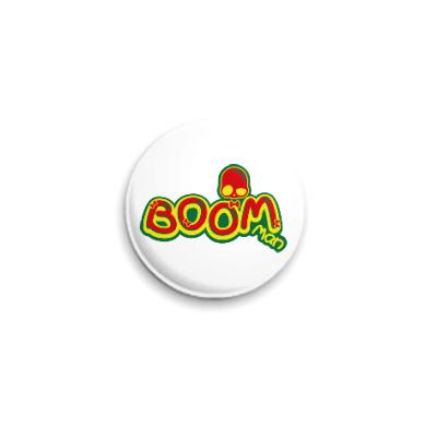 Значок 25мм Boom Man