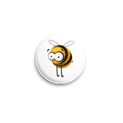 Значок 25мм Пчелозначок, 25 мм