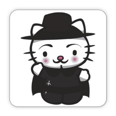 Костер (подставка под кружку) Kitty Vendetta