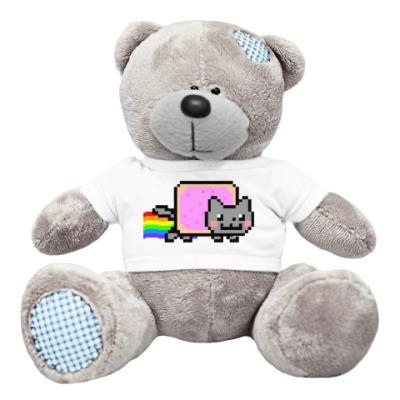 Плюшевый мишка Тедди Мишка NyanCat