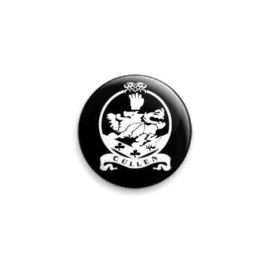 Значок 25мм Cullen emblem